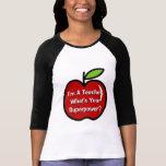 Soy profesor cuál es su camiseta de la remera