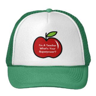 Soy profesor cuál es su gorra de la superpotencia