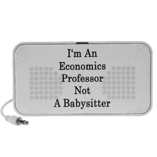Soy profesor de economía no una nin@era iPod altavoces