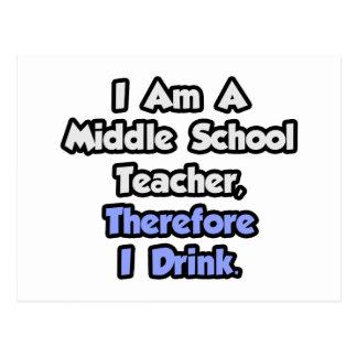 Soy profesor de escuela secundaria, por lo tanto tarjetas postales