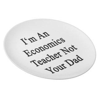 Soy profesor de la economía no su papá plato para fiesta