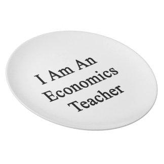 Soy profesor de la economía platos para fiestas