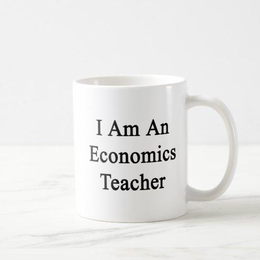 Soy profesor de la economía taza