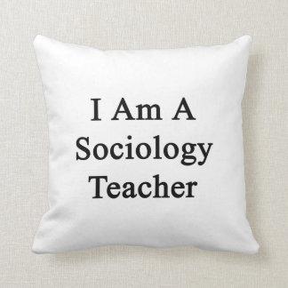 Soy profesor de la sociología cojin