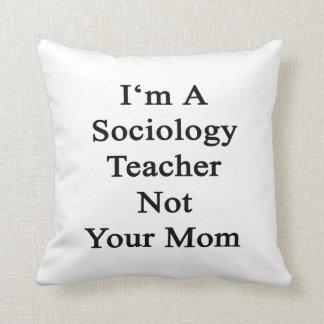 Soy profesor de la sociología no su mamá cojines