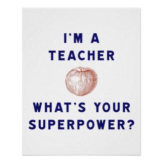 ¿Soy profesor [manzana] cuál es su superpotencia?