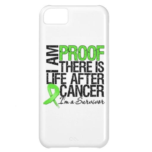 Soy prueba allí soy vida después del cáncer del li funda para iPhone 5C