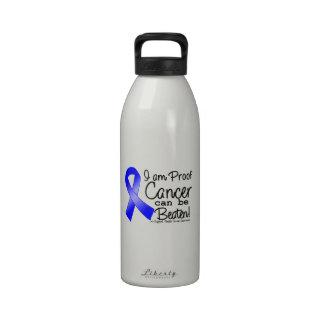 Soy prueba que el cáncer rectal puede ser batido botellas de beber