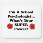 Soy psicólogo de la escuela alfombrilla de raton