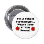 Soy psicólogo de la escuela pin