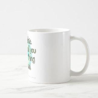 Soy psíquico. Puedo decirle la cosa pasada usted… Taza De Café
