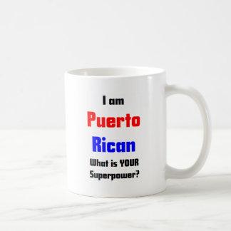 Soy puertorriqueño taza de café