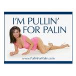 Soy Pullin para la postal de Palin