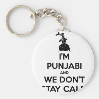 Soy Punjabi y no guardamos calma Llaveros
