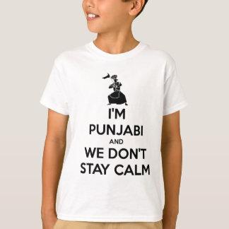Soy Punjabi y no guardamos calma Playera