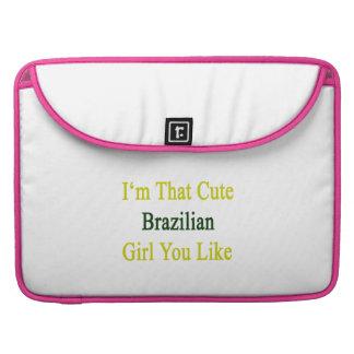 Soy que chica brasileño lindo que usted tiene gust funda para macbook pro