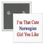 Soy que chica noruego lindo que usted tiene gusto pin