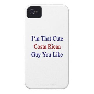 Soy que individuo lindo de Rican de la costa que iPhone 4 Case-Mate Fundas