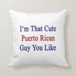 Soy que individuo puertorriqueño lindo que usted t almohadas