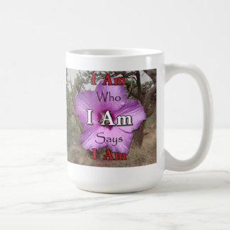 Soy quién soy digo que soy la taza II