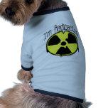 Soy radiactivo camisetas de perrito