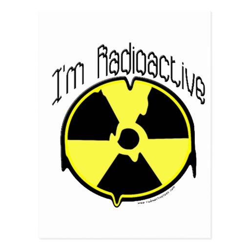 Soy radiactivo postal