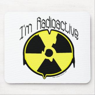 Soy radiactivo alfombrillas de ratones