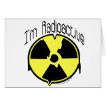 Soy radiactivo tarjetón
