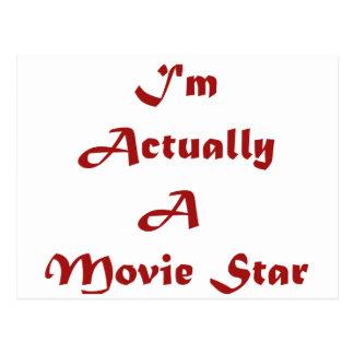 Soy realmente estrella de cine postales