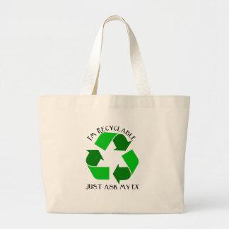Soy recycleable bolsas de mano