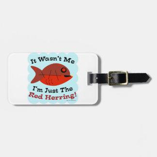 Soy Red Herring Etiqueta De Maleta