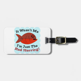 Soy Red Herring Etiquetas Para Equipaje