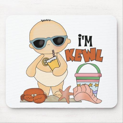 Soy regalo lindo del bebé del verano de Kewl Mouse Pad