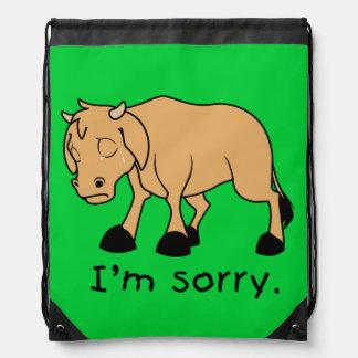 Soy reloj triste gritador triste de la taza del mochila