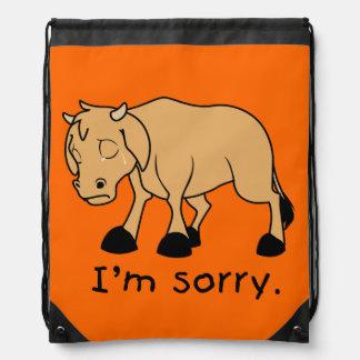Soy reloj triste gritador triste de la taza del mochilas