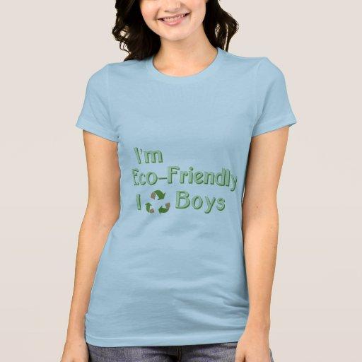Soy respetuoso del medio ambiente, yo reciclo a mu t-shirts
