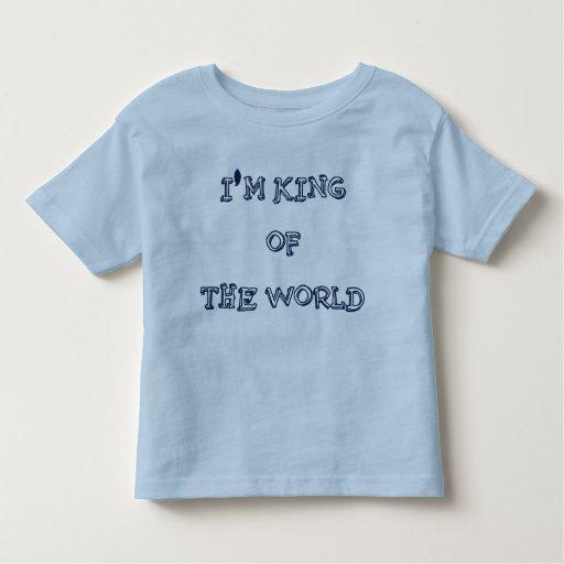 Soy rey del mundo camisas