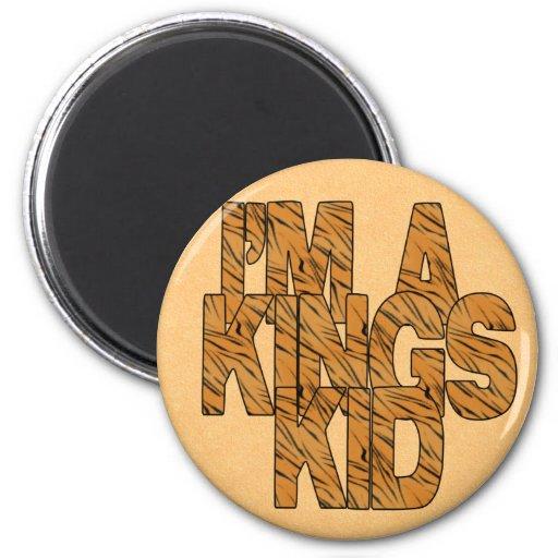 Soy reyes Kid Magnet Imán Redondo 5 Cm