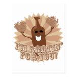 ¡Soy rootin para usted! Tarjeta Postal