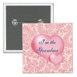 """Soy rosa de la abuela"" Pin"