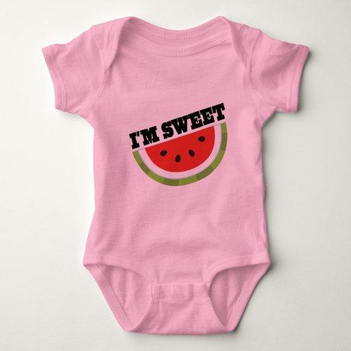 Soy sandía dulce body para bebé