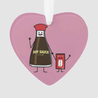 Soy Sauce Bottle Packet kid child condiment Asian Ornament