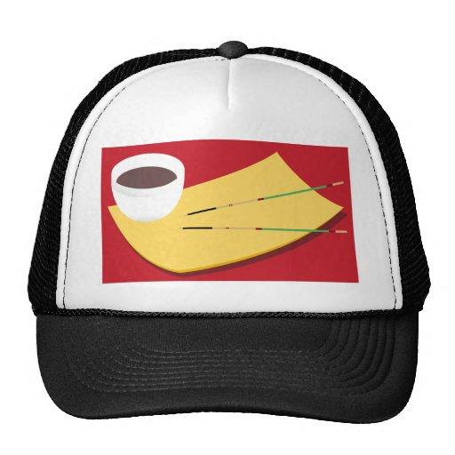 Soy Sauce Chopsticks Hat