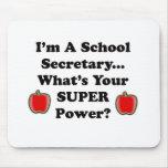 Soy secretaria de la escuela alfombrillas de raton