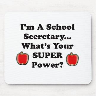 Soy secretaria de la escuela alfombrillas de ratones