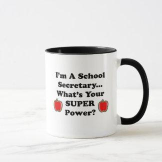 Soy secretaria de la escuela taza