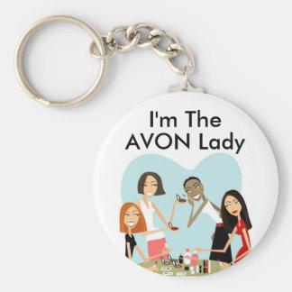 Soy, señora Keychain de AVON Llaveros Personalizados