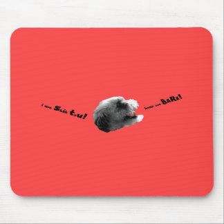 Soy Shih que Tzu me oye raspar Mousepad Tapetes De Raton
