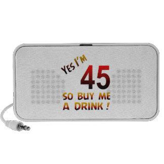 ¡Soy sí 45 así que cómpreme una bebida! PC Altavoces