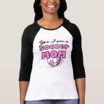 Soy sí camisetas y regalos de una mamá del fútbol